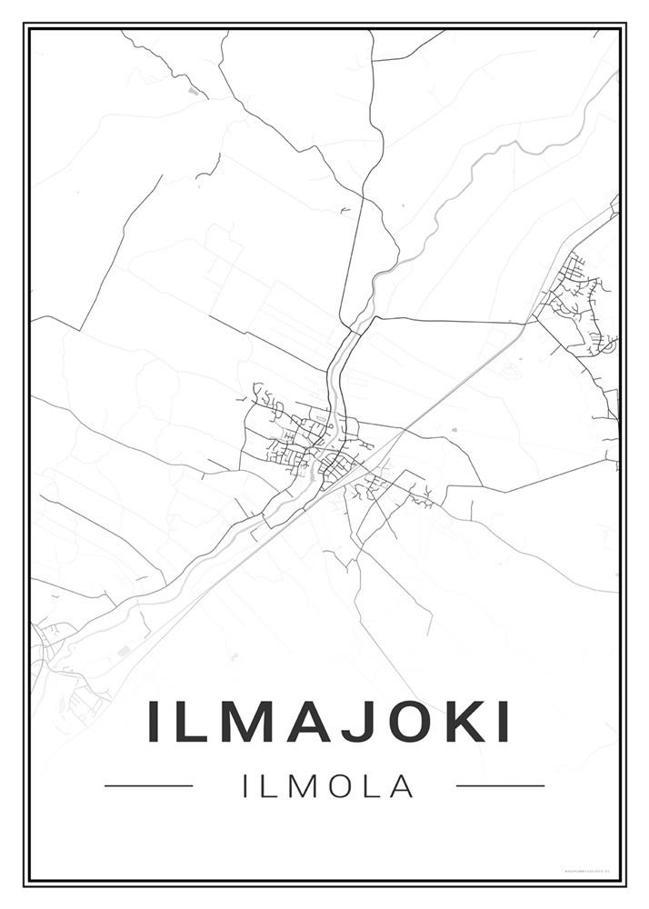 Ilmajoki Kaupunkijuliste Fi