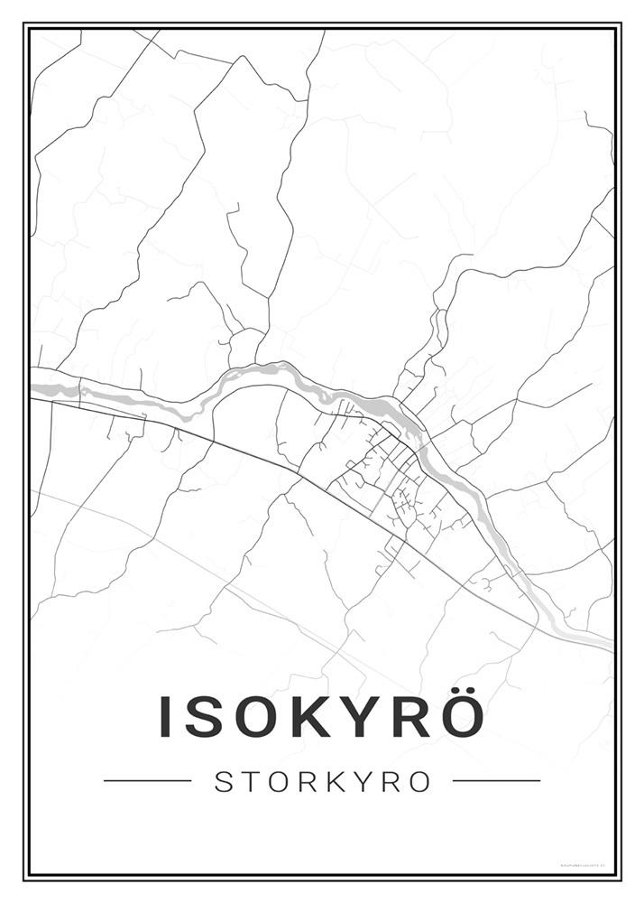 Isokyro Kaupunkijuliste Fi