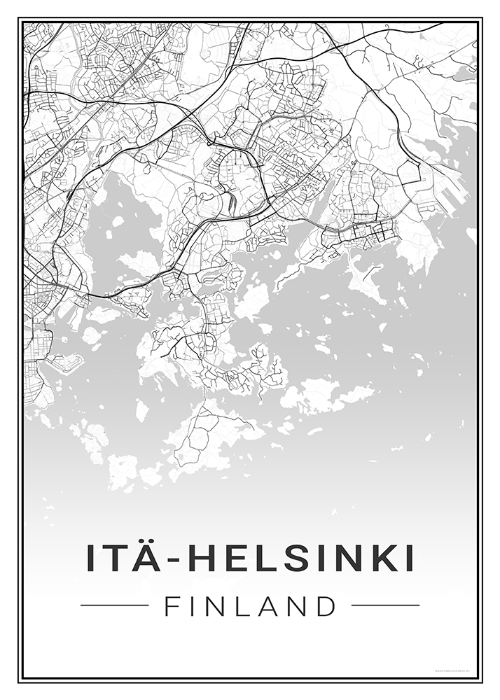 Ita Helsinki Kaupunkijuliste Fi