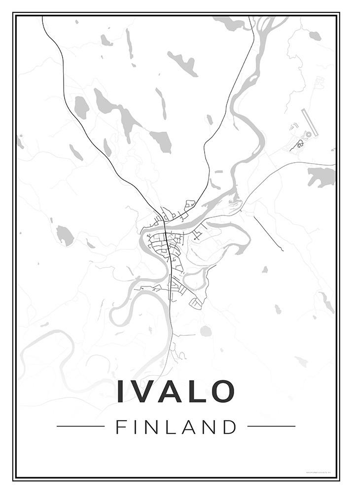Ivalo Kaupunkijuliste Fi
