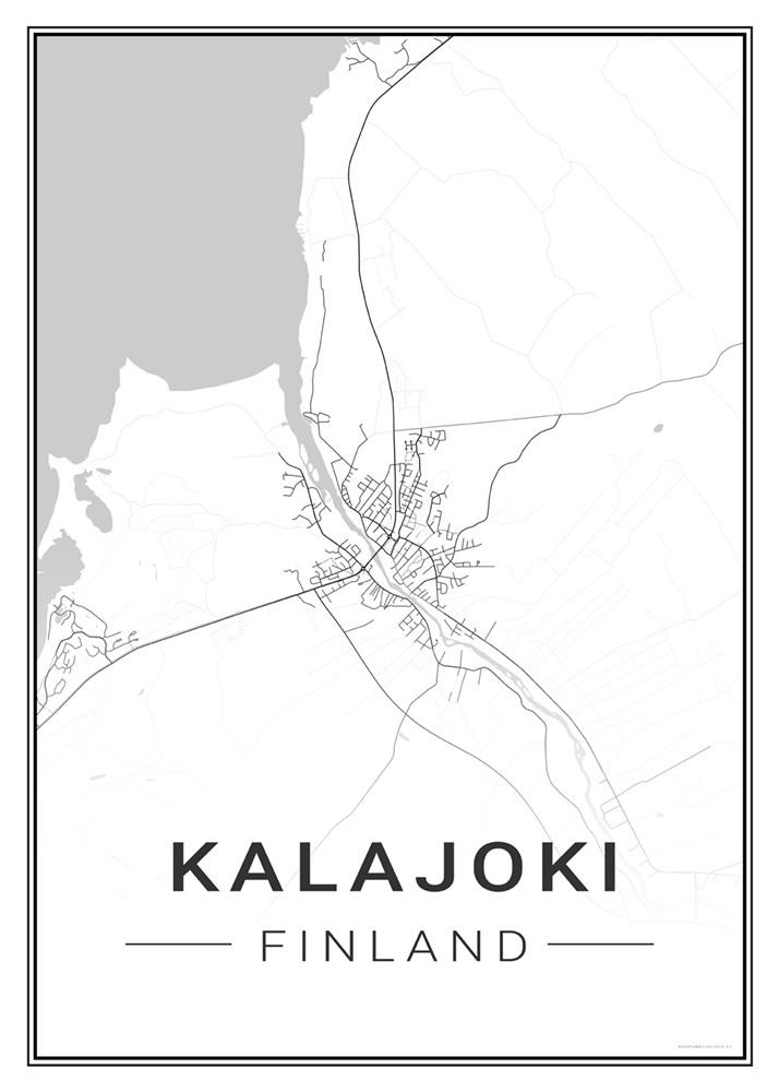Kalajoki Kaupunkijuliste Fi