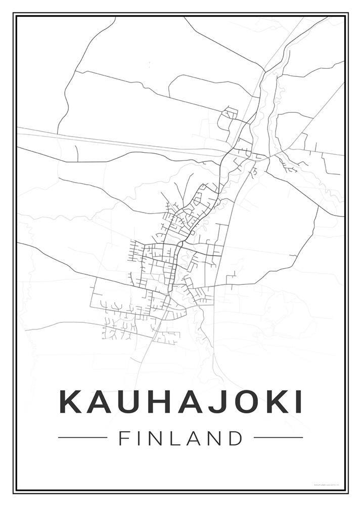 Kauhajoki Kaupunkijuliste Fi