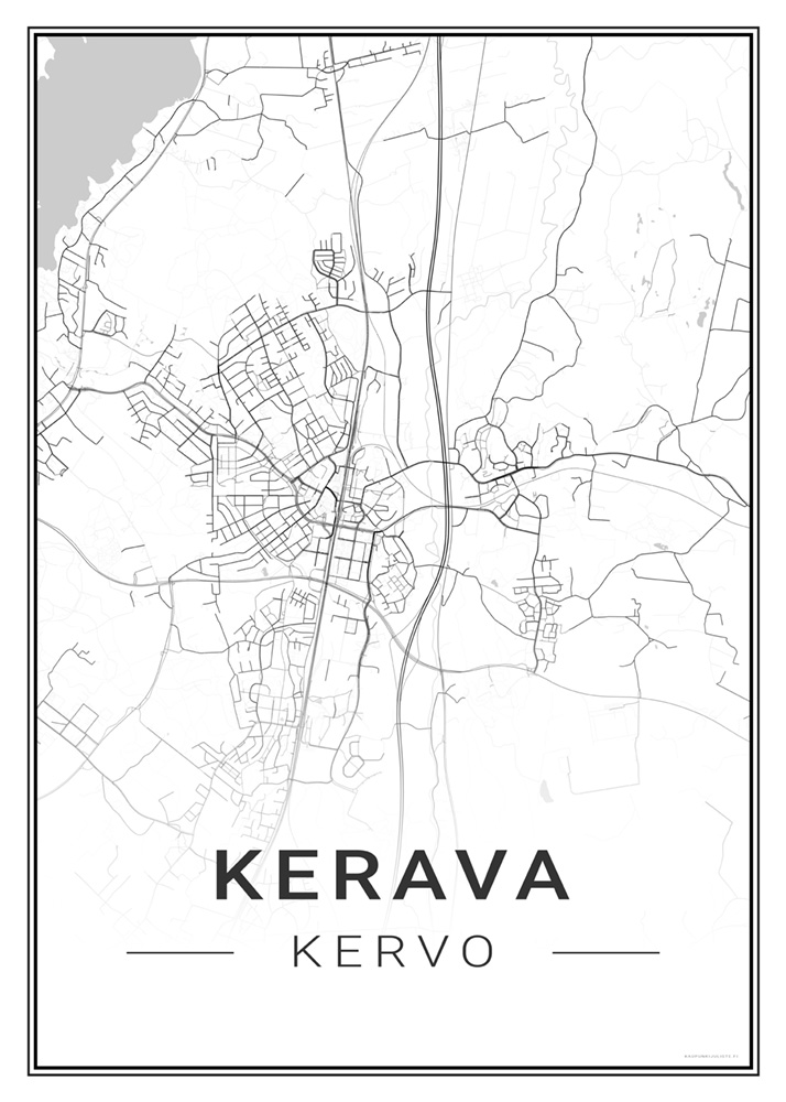 Kerava Kaupunkijuliste Fi