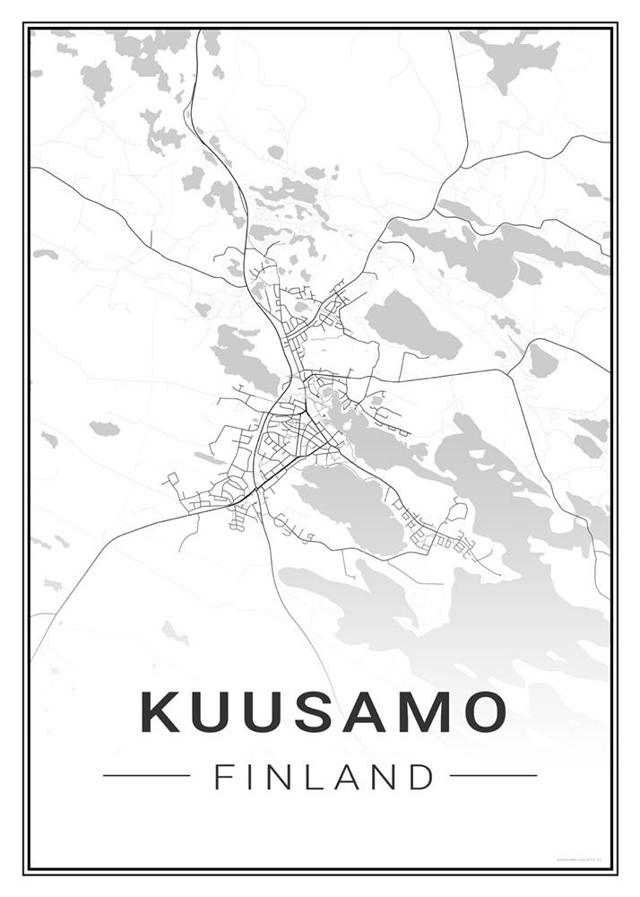 Kuusamo Kaupunkijuliste Fi
