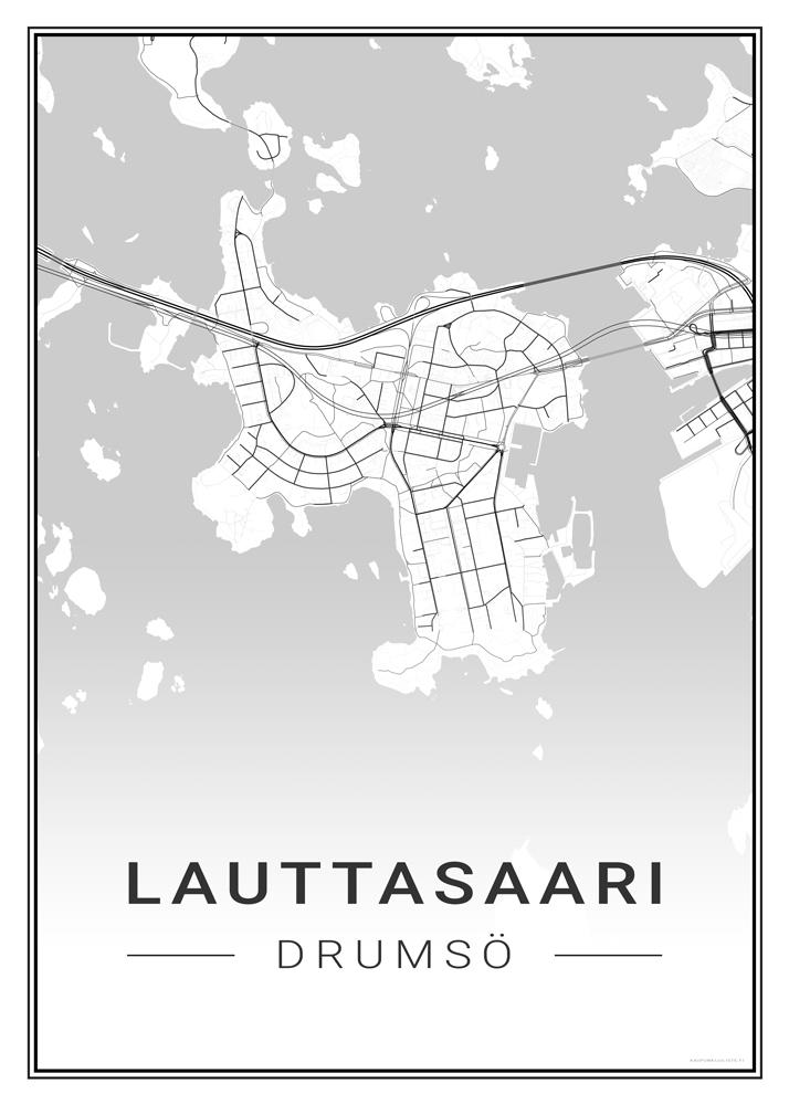 Lauttasaari Kaupunkijuliste Fi