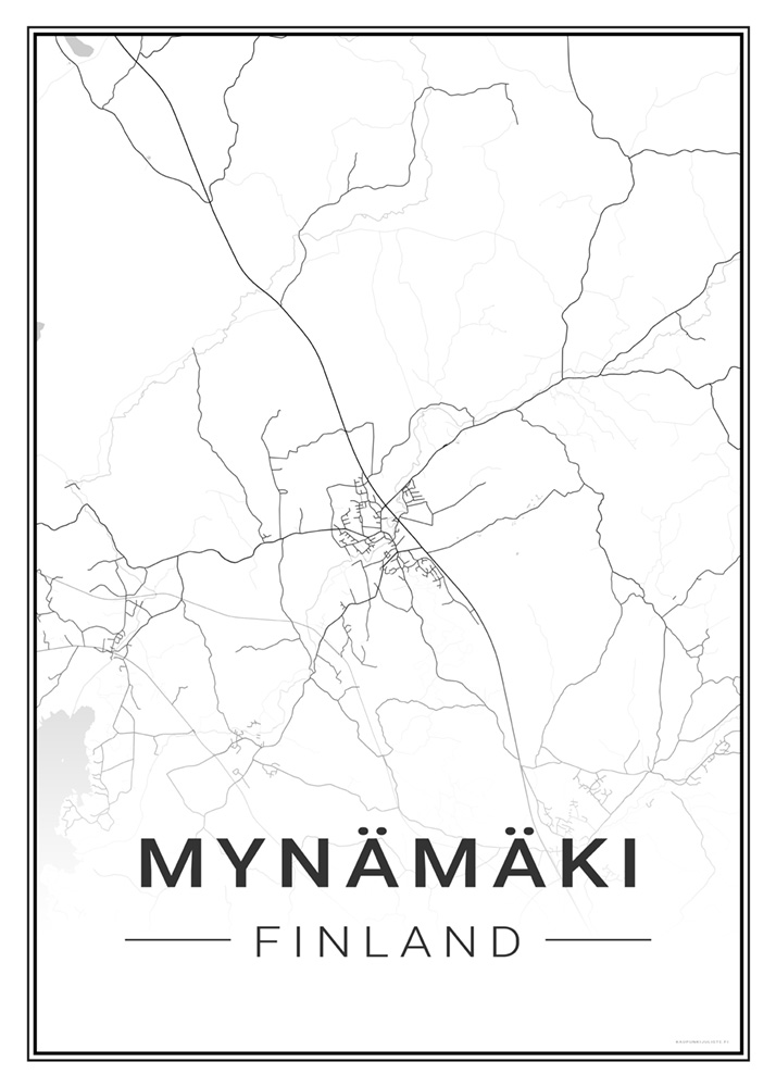 Mynamaki Kaupunkijuliste Fi