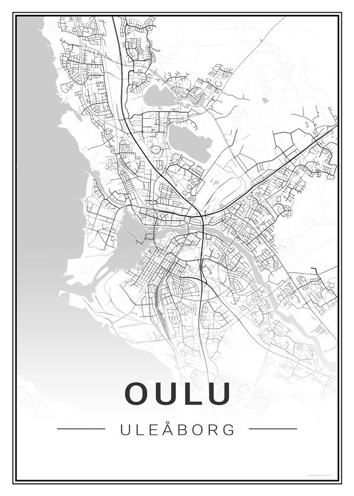 Oulu Kaupunkijuliste Fi