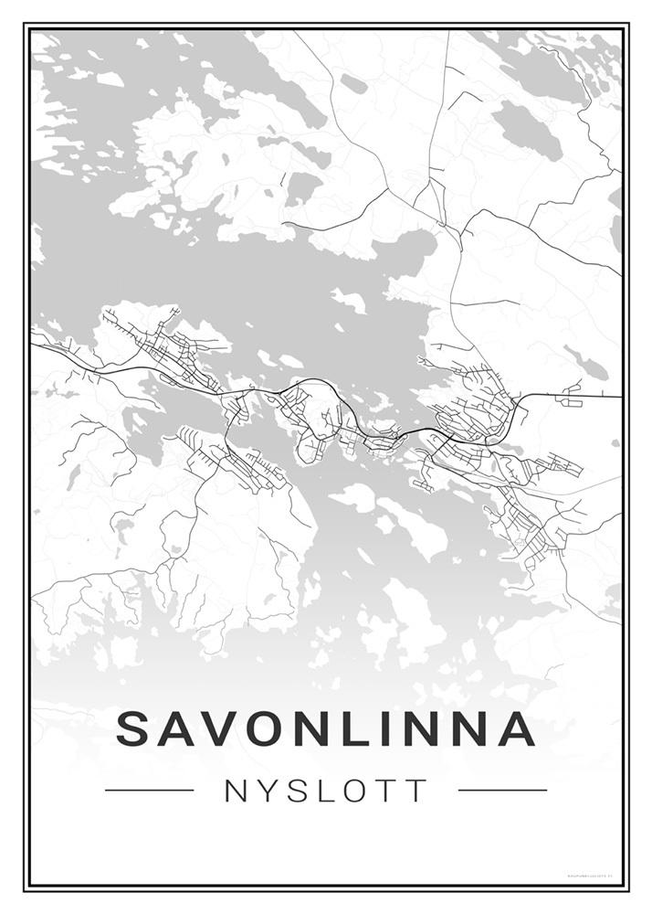 Savonlinna Kaupunkijuliste Fi