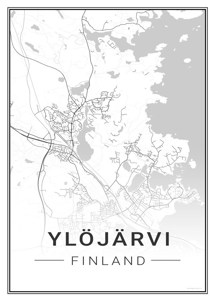 Ylojarvi Kaupunkijuliste Fi